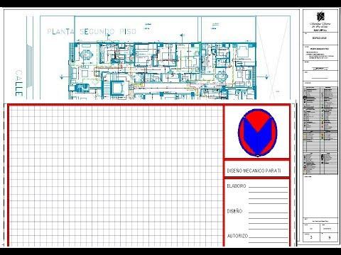 Layout modificar y  crear en AutoCAD -Presentación modificar y crear en AutoCAD