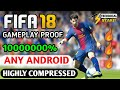 [200MB] How To Download FIFA 18 ⚽ Game In Any Android || Gameplay Proof || Highly Compressed thumbnail