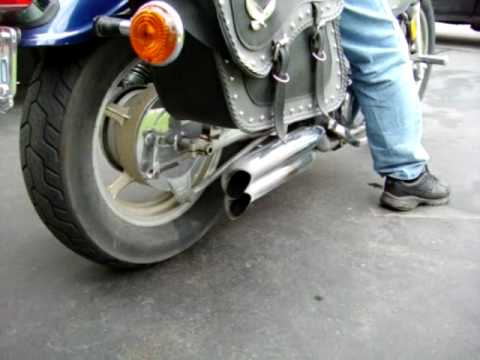 Ottawa Motorcycle Ride For Dad - 1997 Yamaha Virago 1100 Video