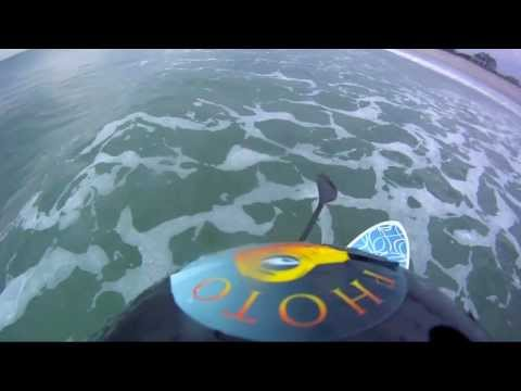 SUP Surfing  GoPro HD Wrightsville Beach