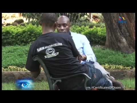NTV Investigates Certificates of Doom by Dennis Okari