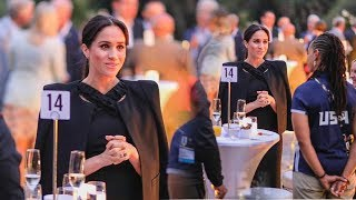 Meghan looks absolutely glamorous at a private party to celebrate Invictus Games on royal tour