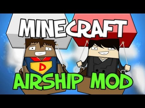 Minecraft - Airship Mod - Mod Spotlight