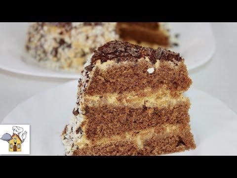 СуперБыстрый торт за 15 минут вместе с выпечкой! Самый простой рецепт!