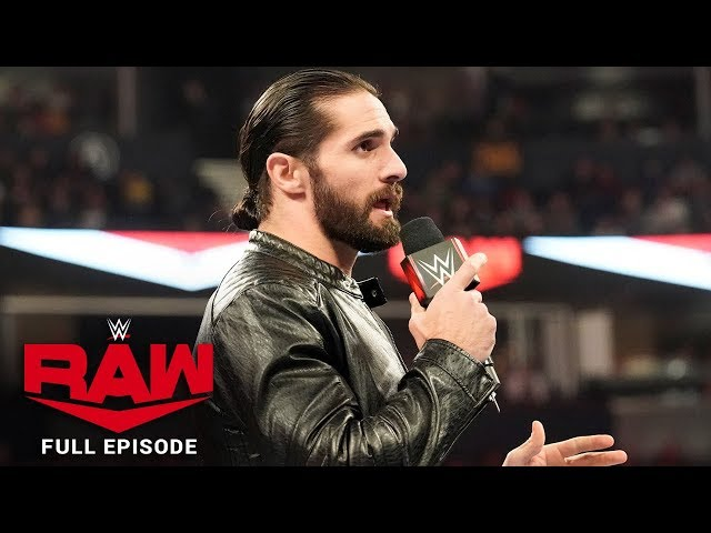 WWE Raw Full Episode, 02 December 2019