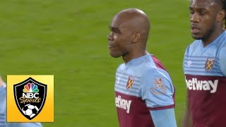 Angelo Ogbonna heads West Ham United in front v. Arsenal | Premier League | NBC Sports
