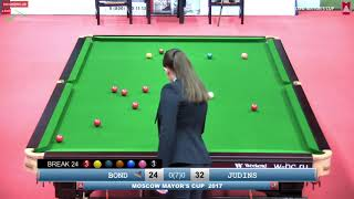 SNOOKER   MOSCOW MAYOR'S CUP 2017   Nigel Bond vs Rodions Judins  Best of 7