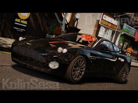 GTA 4/EFLC Aston Martin Vanquish 2001