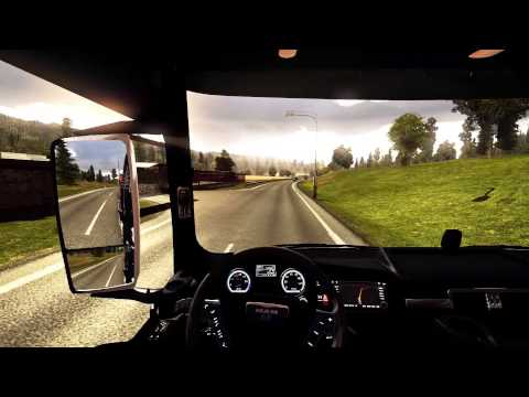 Euro Truck Simulator 2   Man TGX Black & Yellow Interior   1000HP Engine   All Patches!