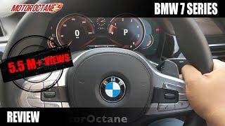 2018 BMW 7 Series Real life review in Hindi | MotorOctane