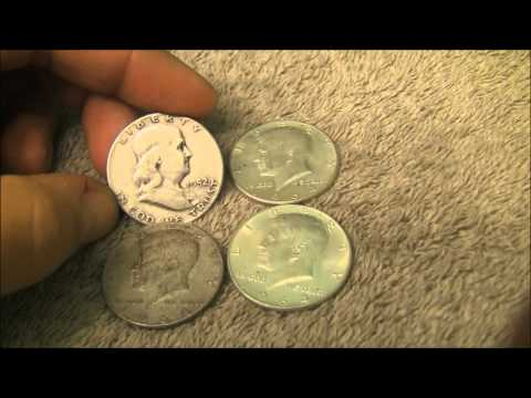 Silver Unboxing from eBay - More 90 percent Half Dollars