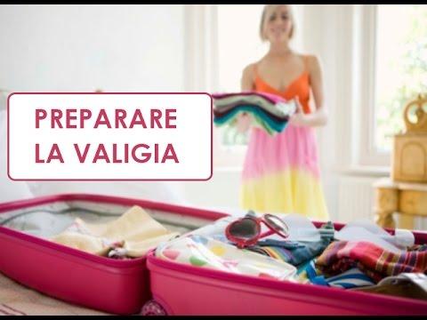 preparare una valigia organizzata youtube