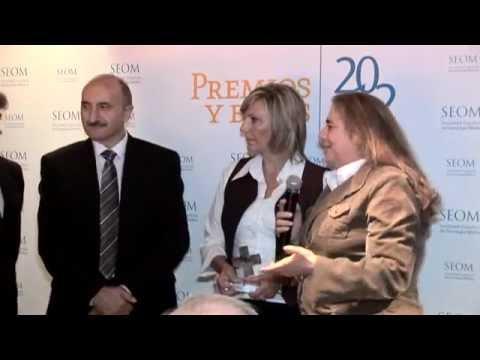 Entrega de Premios y Becas SEOM 2012
