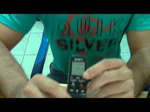 gravador de voz sony ICD PX 333 (agregando)huebrhuebr.