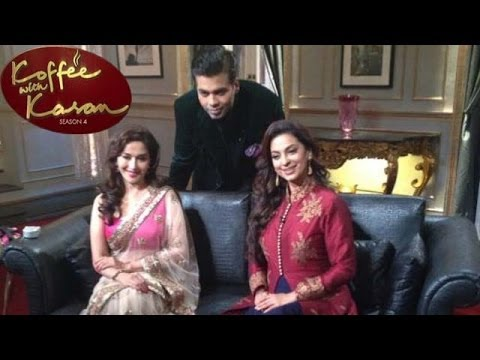 Koffee with Karan -  Madhuri Dixit and Juhi Chawla on the show