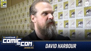 David Harbour Talks Black Widow - San Diego Comic-Con 2019 Interview