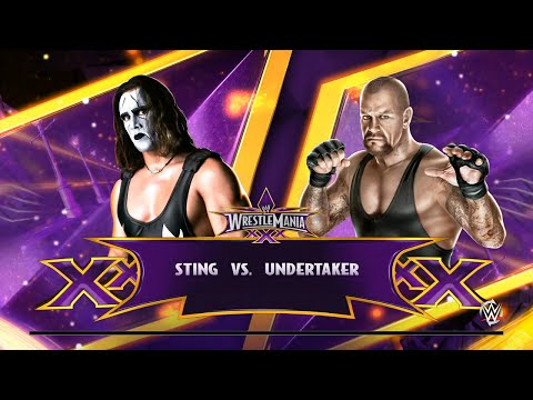 WWE 2K15 - Sting vs The Undertaker ✦【PS4 / XBOX ONE / Next Gen】