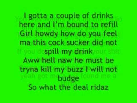 Eminem Ridaz (recovery deluxe version) lyrics