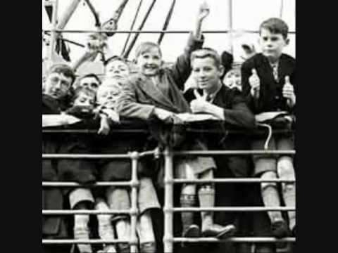 BRITISH CHILD MIGRANTS SENT TO AUSTRALIA