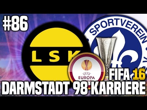FIFA 16 KARRIEREMODUS #86 - EUROPALEAGUE! | FIFA 16 KARRIERE SV DARMSTADT 98 [S3EP4]