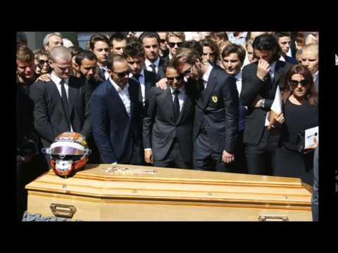 Massa, Hamilton, Vettel e outros pilotos se despedem de Bianchi em velório na França