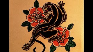 How to Draw a Tattoo Panther