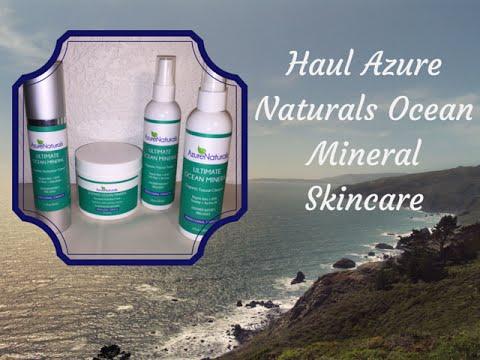 Azure Naturals Ultimate Ocean Minerals Skincare Review