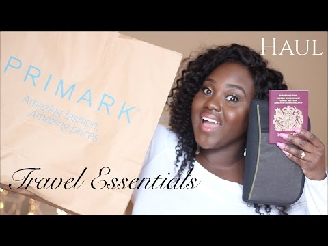 GOING TO SOUTH AFRICA! TRAVEL ESSENTIALS HAUL | TOPSHOP, NEWLOOK, EBAY, PRIMARK