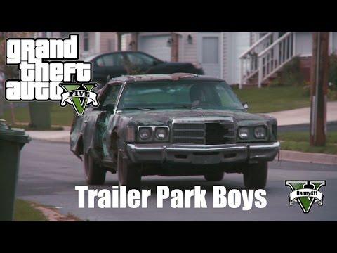 gta 5 trailer park boys the shitmobile custom car build