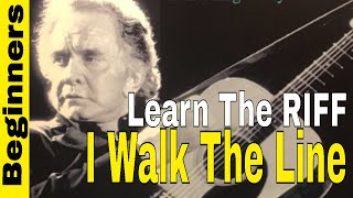 I Walk The Line Johnny Cash-TRAVIS PICKING STYLE