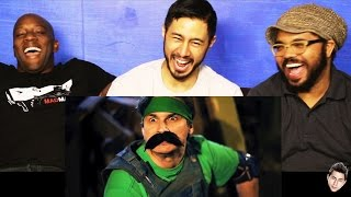 MARIO WARFARE (Ep7) reaction by Jaby, Syntell & Chuck!