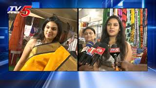 Singer Malavika Anand Launches Silk And Cotton Expo | Hyderabad