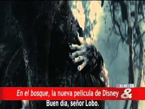 En el bosque, la nueva película de Disney