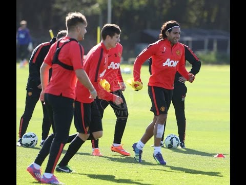 Manchester United - First-team training 27/09/2014