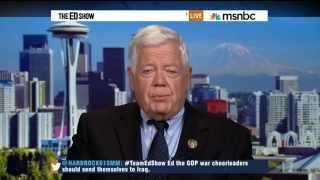 Rep. McDermott on the situation in (Iraq) | We lost 4,000 solders  the war in Iraq was a mistake  6/18/14