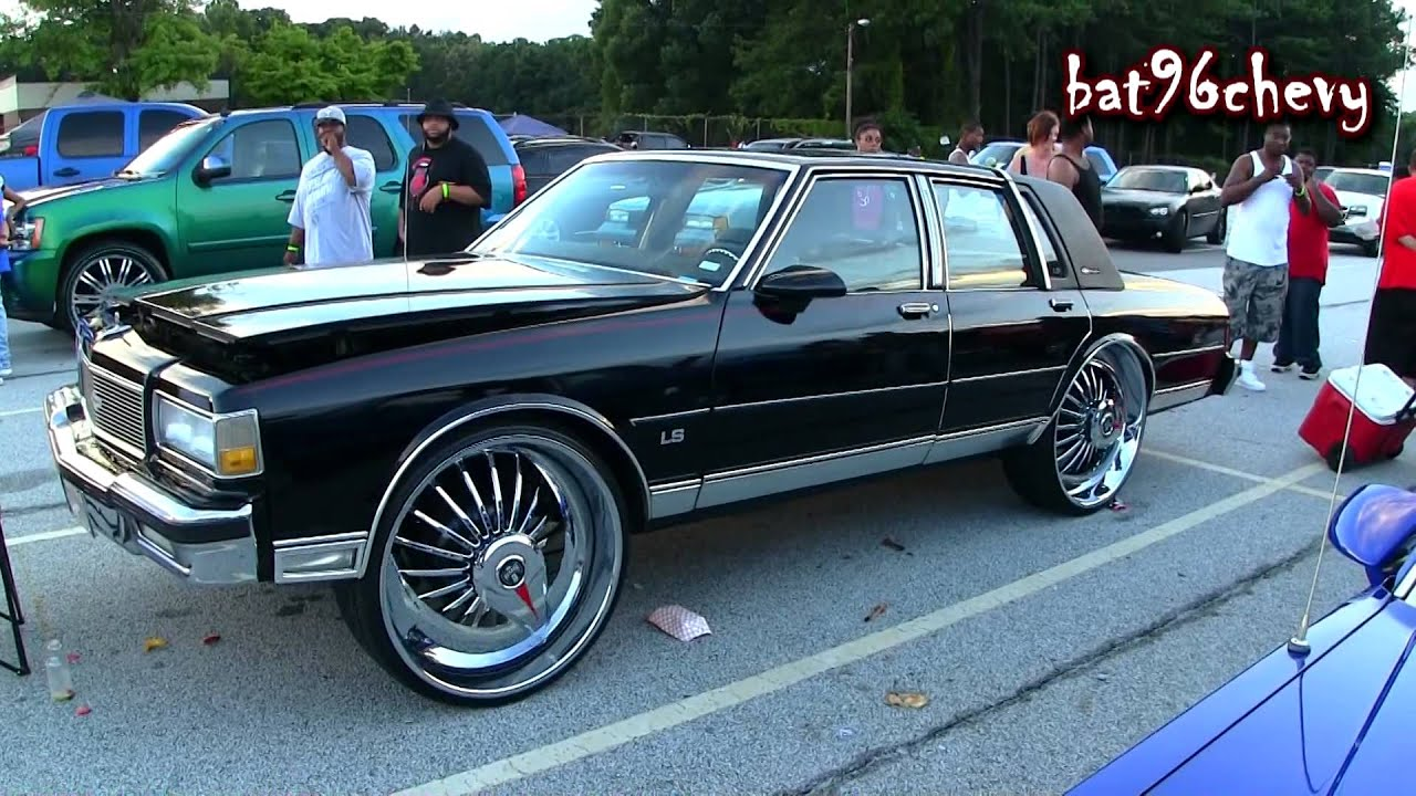 Black Box Chevy Caprice Brougham Ls On 28 Quot Dub Azzmacka