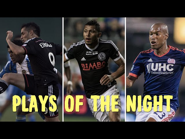 Defensive heroics and finesse plays highlight this week's Plays of the Night