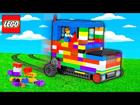 LEGO CAR MOD - IT ACTUALLY WORKS!!