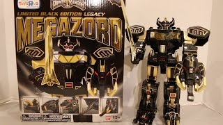 Limited Black Edition Legacy Megazord Unboxing/Review [Mighty Morphin Power Rangers]
