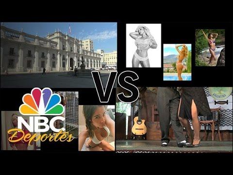 Batalla de bellezas en la final de Chile vs Argentina   Deporte Rosa   NBC Deportes