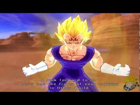 Dragon Ball Z Budokai Tenkaichi 3 - Story Mode SSJ2 Goku Vs Majin Vegeta (Part 15) 【HD】