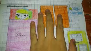 Giới thiệu ngôi nhà búp bê bằng giấy (handmade)😊😊😊