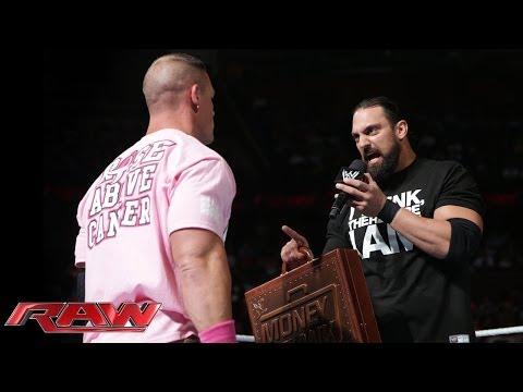 John Cena vs. Damien Sandow - World Heavyweight Championship Match: Raw, Oct. 28, 2013