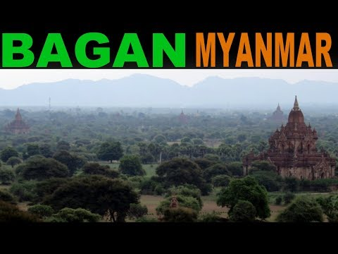 A Tourist's Guide to Bagan, Myanmar
