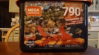Mega Construx Pro Builder tub review.