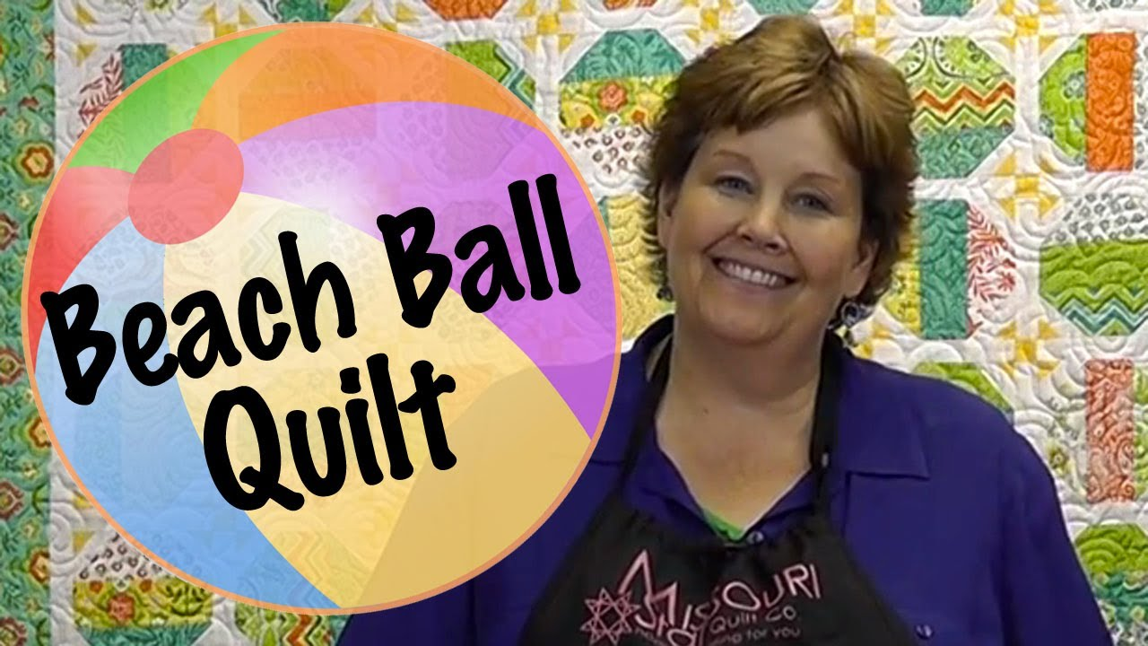 The Beach Ball Quilt Easy Quilting With Jelly Rolls