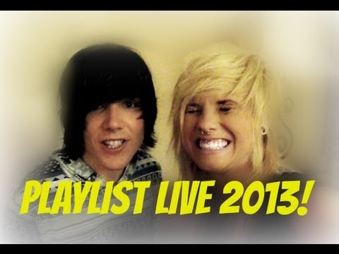 Tabby At Playlist Live 2013!