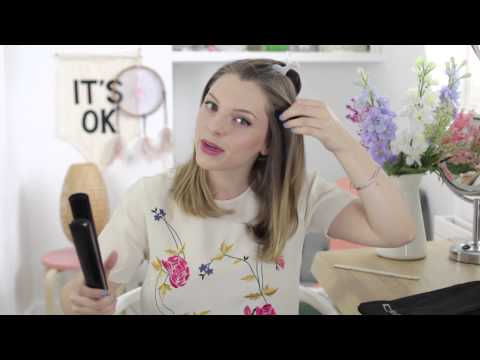 How to style a fashion-forward 'lob', by Essie Button - All Things Hair