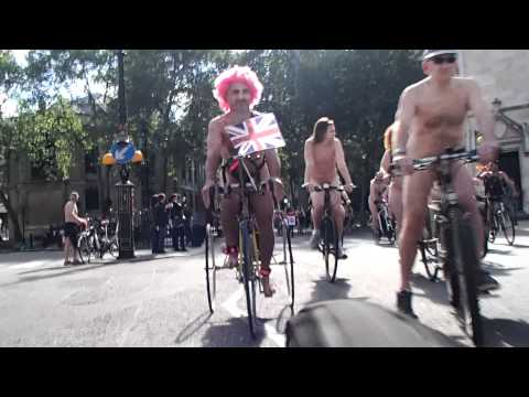 World Naked Bike Ride - London 2012 - Part 6