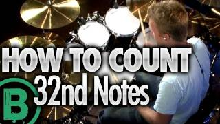 (14.1 MB) How To Count 32nd Notes - Beginner Drum Lessons Mp3